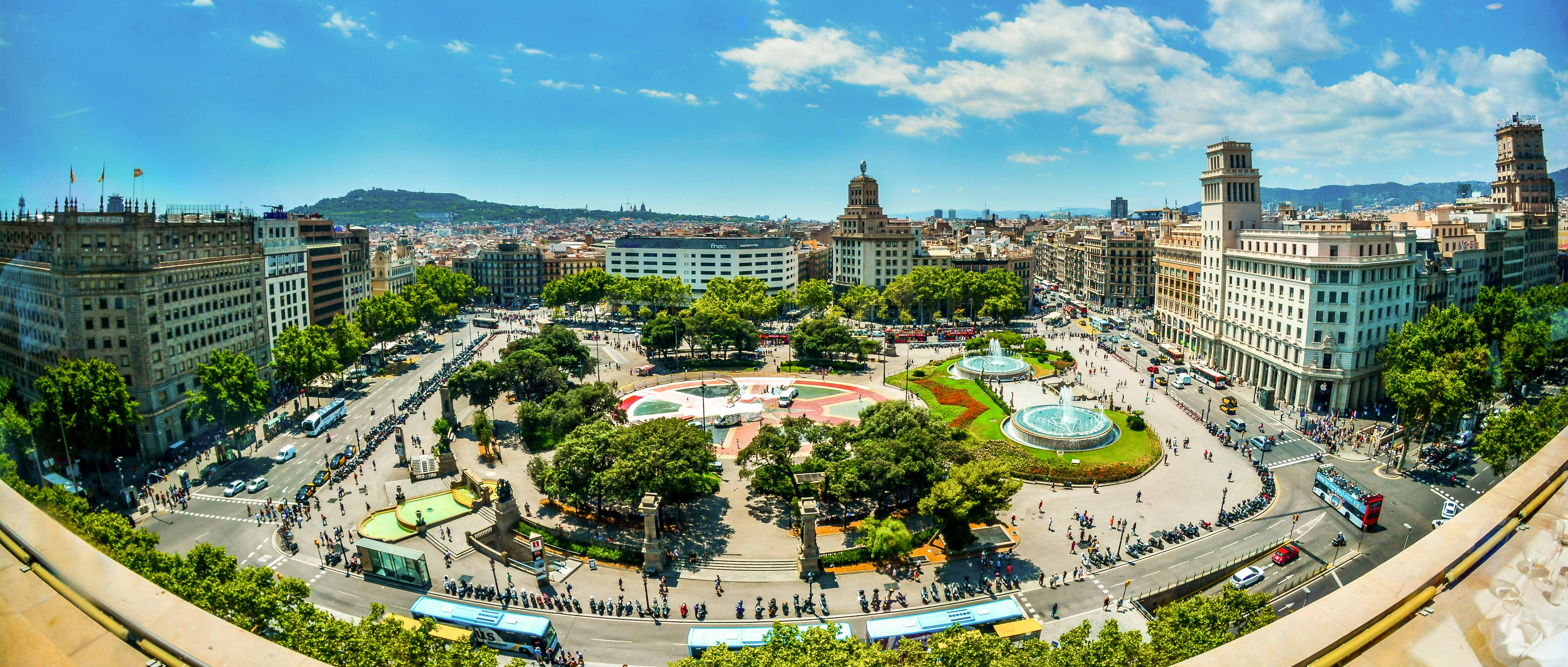 Plaça Catalunya-Icietlabas-blog-voyage-espagne